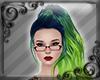 DS+ Neon Green Blue Hair