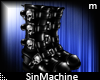 [SMn] Skull Boots
