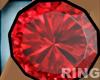 Goth Ruby Ring