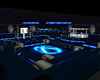 blue neon nightclub