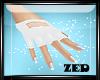 Lacoste White Gloves