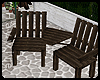 :DarkWood Garden Chairs