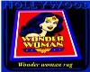 Wonder woman rug