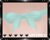|H Teal Bow