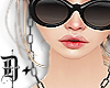 D+. Glasses Chain BLK