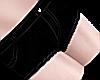 B! black femboy shorts