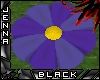 Blue flower Seat