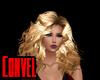 Blonde curl n poof