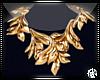 K  Gold Leaf Necklace