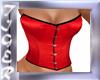 corset rojo