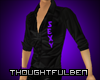 .TB. Purple Sexy Shirt