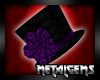 CEM Purple Gothlace Hat