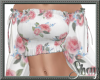 Sweet Floral Gypsy Top