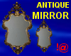 !@ Antique mirror