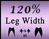 S* Leg Width 120%