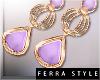 ~F~Pastila Earring Lilac