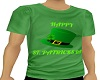 St Patricks day tee M