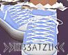 B! Blue Sneakers