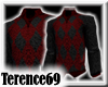69 Sweater Argyle-BlkRed