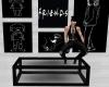 Table Black Pose