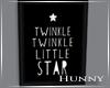 H. Twinkle Star Framed