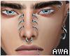 擾 Face Piercings