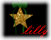Animated Xmas Star Green