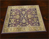 Cafe rug purple