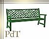 PdT Green Garden Bench