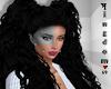 Black curly Hannah