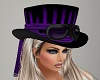 ~CR~Steampunk Purple Hat