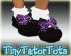 Purple Leopard Shoes