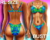Hawaiian Print Bikini