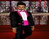 Formal Pink/Blk Tuxedo