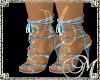 *M Avril Blue Sexy Heels