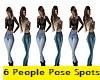 6 P-Pose Spots