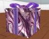 purple present animated