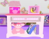 Pink Minnie Nightstand