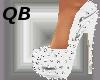 Q~White Spiked Platforms