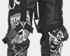 Patched Tactical Pants