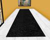 blk, hallway-Runner rug