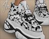$ Dalmatian Sneakers