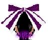 ~RP~ Purple Stripes Bow