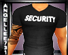 SECURITY MUSCLE TEE BLK