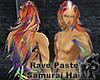 Rave Pastel Samurai Hair