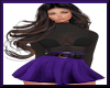 Holiday Joy Purple/Blk