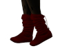 Red Slouch Boots