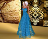 Blue gown spring