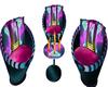 Neon Bar Seats