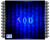 500 cred Support Sticker